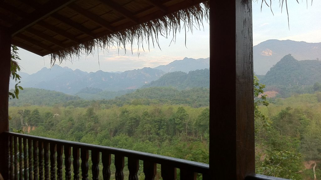 Lazy in Laos