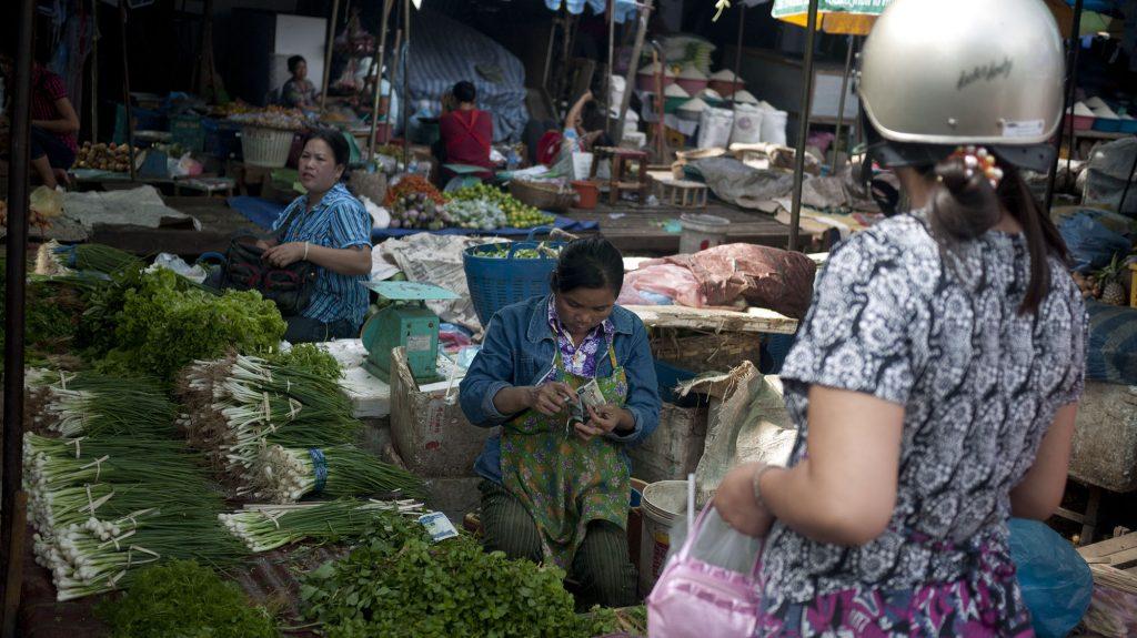 Phousi Market – Laos