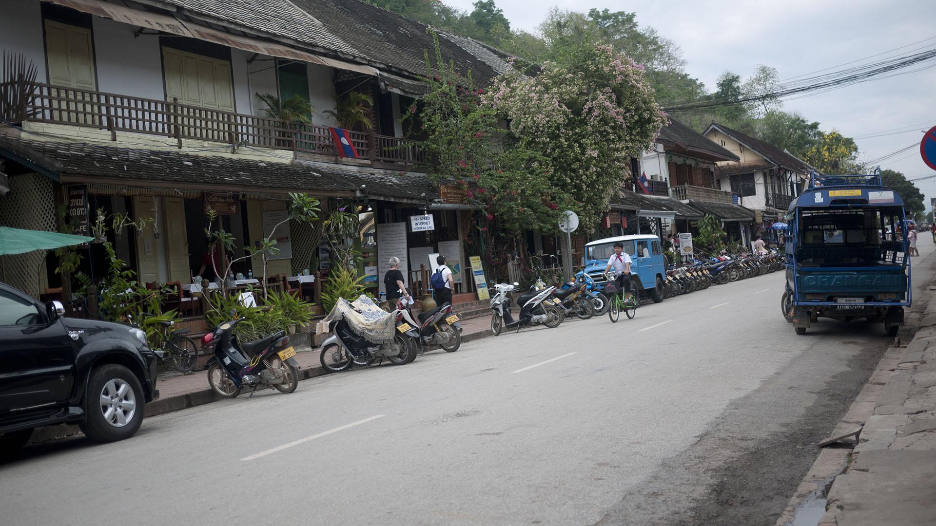 Luang Prabang bike