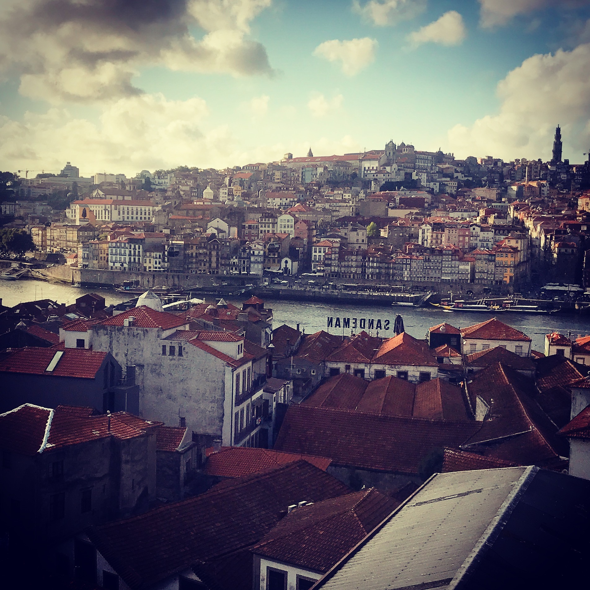 Porto viewed from Port houses