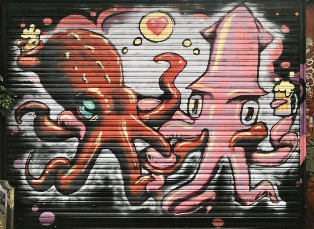 Ximending Street Art – Taipei